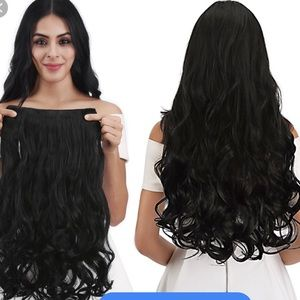 Accessories - Natural curly wavy thick hair extensions